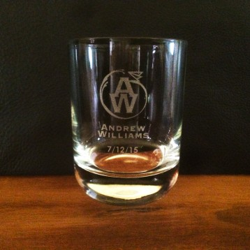 Corporate Whiskey Glass