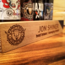 Oak Desk Nameplate