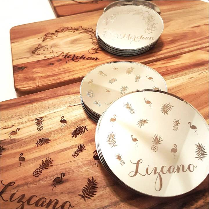 Serving Board & Coasters